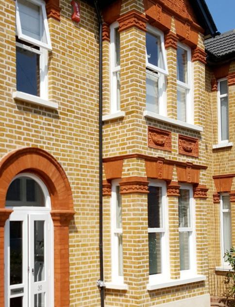 After brick restoration