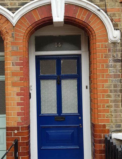 Cornwallis Road E17 Doorway Moulded Brick Repairs_0001_Background