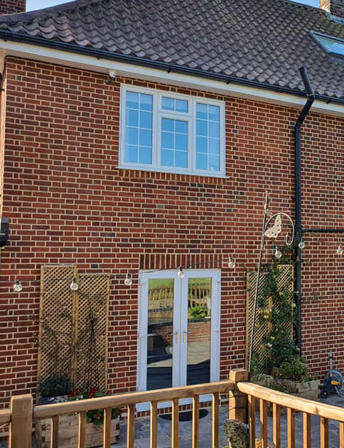 Stow Maries - brick Restoration